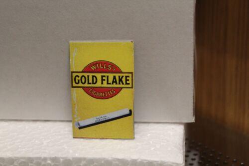 Rétro Métal Signe = Willis Gold Flake Maison de Poupées