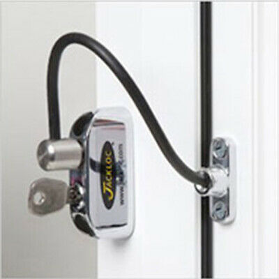 Jackloc Window Restrictor Push /& Turn Brown JACK-PT-B
