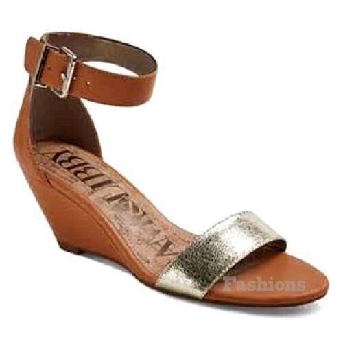 Womens Sam Wedge & Libby Shae Ankle Strap Wedge Sam Sandal NWOB C85 21f7b8