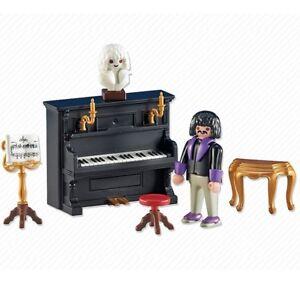 Playmobil-FamilyFun-Ref-6527-NUEVO-Pianista-con-Piano-Musico-Concierto