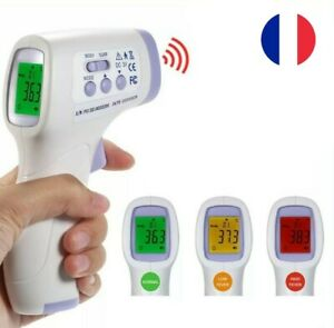 Thermometre-Professionnel-Frontal-Infrarouge-Sans-Contact-Numerique-Bebe-Adulte