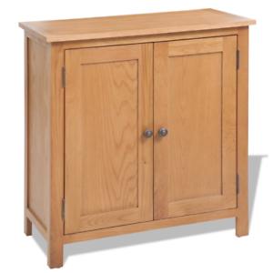 OAK Sideboard Solid Wooden Cabinet Wood Furniture Storage Cupboard ...