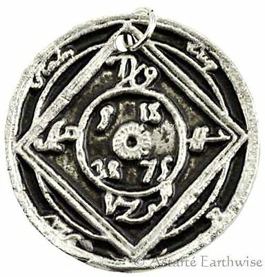 1 x DESTROY ALL EVIL AMULET Wicca Pagan Witch Amulet Goth