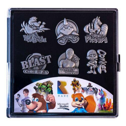 Official Rare Heritage Limited Edition Collectors Pin Badge Set New