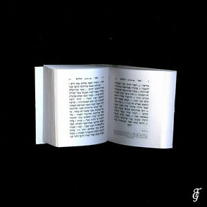 JUDAICA-TEHILIM-REAL-HOLY-BOOK-MINIATURE-GOLD-10-DDD