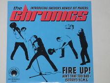 "THE CHRONICS -Fire Up!- 7"" 45 nm"