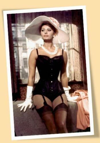 SOPHIA LOREN LARGE PRINT POSTER SIZE MOVIES OLDIES