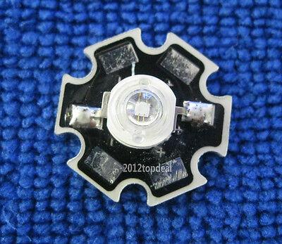 1W 365nm UV LED ultraviolet  LED lamp light High Power bead with 20mm base