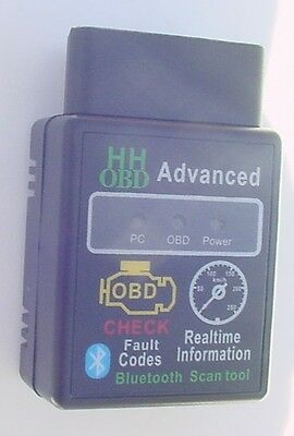 Fits Toyota OBD2 OBDII Advanced Wireless Bluetooth Scanner  Code Reader Tool