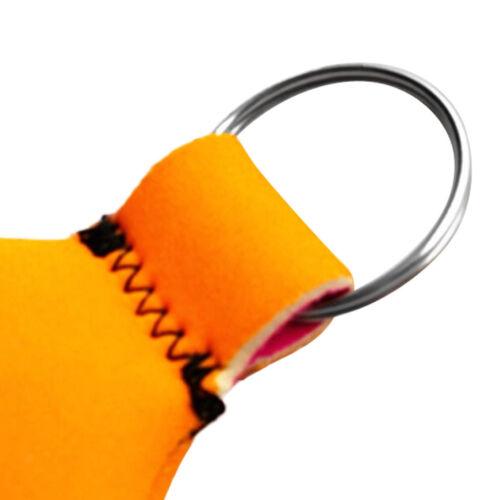 Orange Floating Keyring Seaside Yachting Boat Water Key Float Accessories