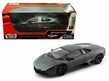 MOTOR MAX 1:18 LAMBORGHINI REVENTON Diecast Car Model Gray Color 79155