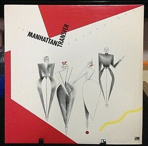 THE MANHATTAN TRANSFER Extensions Released 1979 Record/Vinyl Collection USA