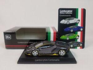 1-64-Kyosho-Lamborghini-Minicar-Collection-Centenario-LP770-4-2016-2017-Gray-H