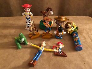 Vintage Toy Story Lot Action Figure Jessie Disney Pixar Potato Head