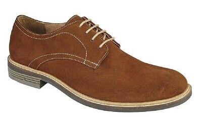 Beliebte Marke Herren Modische Schuhe Roamers 4 Eye Einfarbig Derby Schuhe Um Jeden Preis