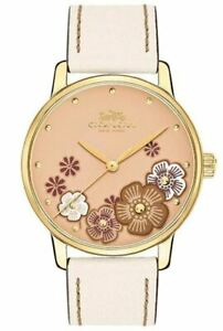 COACH-14503008-Grand-36mm-Chalk-Leather-Rose-Gold-Floral-Dial-WOMEN-s-Watch