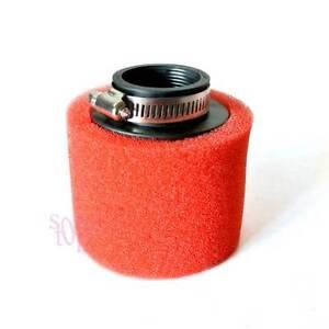 40mm-Red-Foam-Air-Filter-For-CRF50-XR50-Motorcycle-ATV-Motorbike