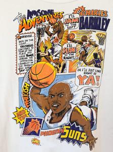 90s Charles Barkley New Gildan  T-Shirt Awesome Adventures of Sir Charles DD2060