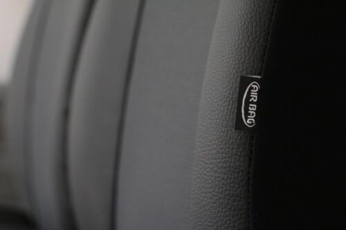 on EcoLeather+Fabric Tailored Front Seat Covers SKODA OCTAVIA Mk3 III 2013