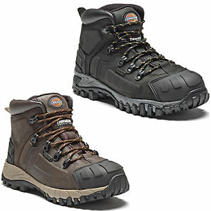 Dickies-Medway-Safety-Boots-Mens-Water-Resistant-Steel-Toe-Cap-Boots-UK6-12