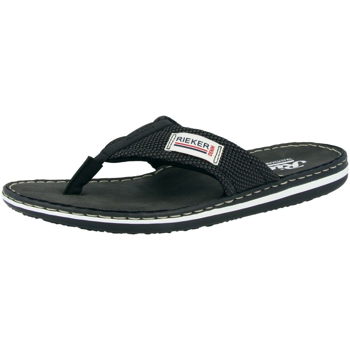 Rieker Volos-Techknit Sandals Flip-Flops Anti-stress Bridge shoes 21089-00