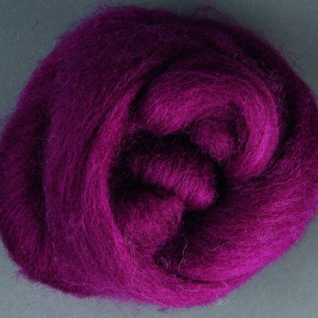 Ashford Merino Sliver #047 Raspberry x 50g