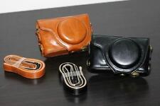 New Leather Camera Case Bag Cover For Fujifilm Fuji X-F1 XF1 Finepix