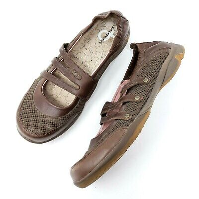 Salomon Womens Mary Janes Size 6 Brown