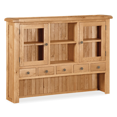 Sidmouth Oak Large Hutch Rustic Welsh