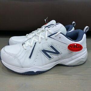 New-Balance-619-Training-Walking-Shoes-White-Navy-4E-Wide-Men-039-s-Size-9-5-MX619WN