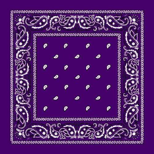 Lot de 3 6 12 gros 100/% Coton Imprimé Cachemire Bandana Head Wrap écharpe