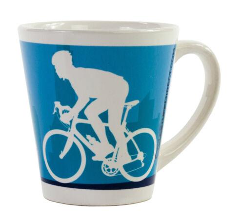 Cycle Latte Tasse à Café Thé Tasse 12 oz environ 340.19 g Cyclisme Designs Mtb Route longe de Flandre
