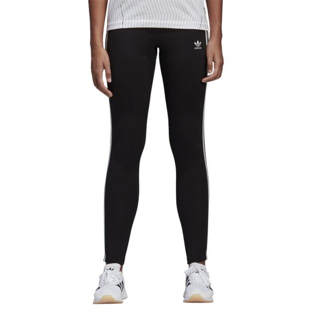 0d0f351b19e1cf adidas Originals Leggings 3-stripes #ce2441 Black 42 günstig kaufen ...