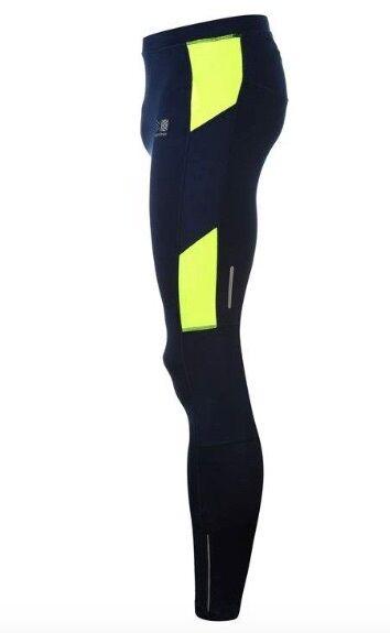 f9281c0f16c Karrimor men Corsa Jogging Pants Stretto Lungo blue blue Marino yellow. Um  ano sem a ...