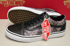 672ed0db5e Image is loading Vans-Old-Skool-Snake-Black-Khaki-VN-0VOKDUI-