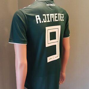 6f68620e65e adidas Raul Jimenez  9 Mexico Home Men s Soccer Jersey Green