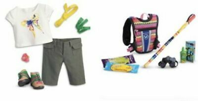 """American Girl Lea/'s Rainforest Hike Hiking Accessories for 18/"""" Doll Backpack NIP"""