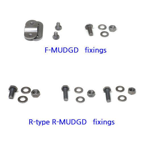 L-type or R-type nov Titanium mudguard bolt nut set for Brompton