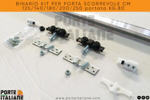 BINARIO-KIT-PER-PORTA-SCORREVOLE-CM-125-140-180-200-250-portata-KG-80