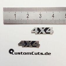 4X4 Embleme für Axial RC4WD Tamiya  1:10 RC Scaler Crawler Drifter Trucks LKW