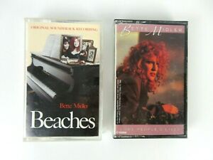 Vintage-Bette-Midler-Some-People-039-s-Lives-Beaches-Cassette-Tapes-Lot-of-2