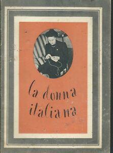 La-Donna-Italiana-Editoriale-Domus-1941-Propaganda-Bellica-WWII-Boccasile