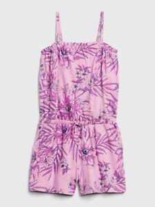 NWT-GAP-KIDS-GIRLS-ROMPER-SHORTS-floral-u-pick-size