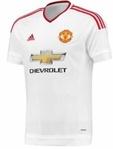 Image is loading 2015-2016-Adidas-Manchester-United-Away-Soccer-Jersey-