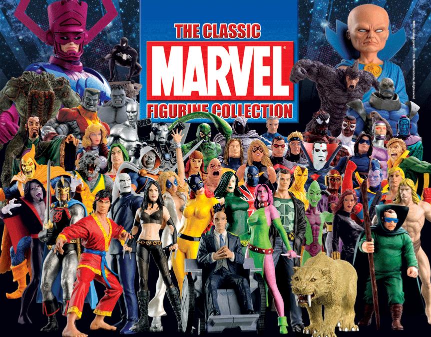 Marvel - klassiker eaglemoss' collection   1er é reichen.neue bzw. sehr gut