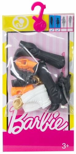 Barbie Accessories Original & Petite Doll Shoe Pack FCR92 *NEW*