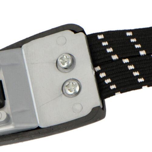 Weiß Seil Gurt Schnur Fahrrad Fahrradgepäck Gummi 3 in 1 PVC Schwarz