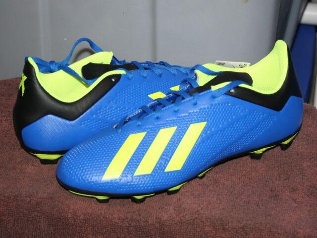 Mens Size 11.5 Blue Black Yellow adidas
