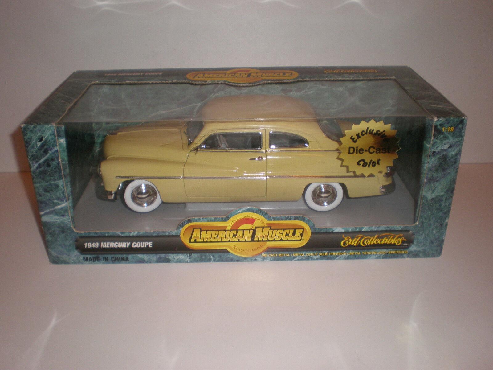 Centro comercial profesional integrado en línea. 1 1 1 18 1949 Mercury Coupe Ertl American Muscle  precio mas barato