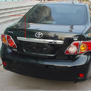 Image Is Loading For Toyota Corolla 2009 2010 Rear Trunk Hatch